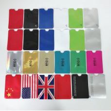 Aluminum Foil RFID Blocking Card Sleeve Pack of 100