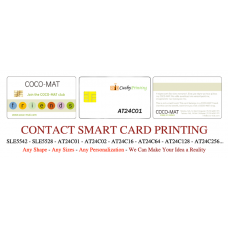 AT24C02 Contact Smart Cards Pack of 500