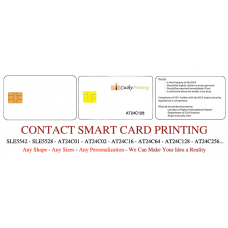 AT24C128 Contact Smart Cards Pack of 500