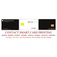 AT24C256 Contact Smart Cards Pack of 500