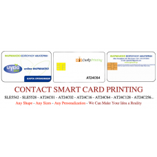 AT24C64 Contact Smart Cards Pack of 500