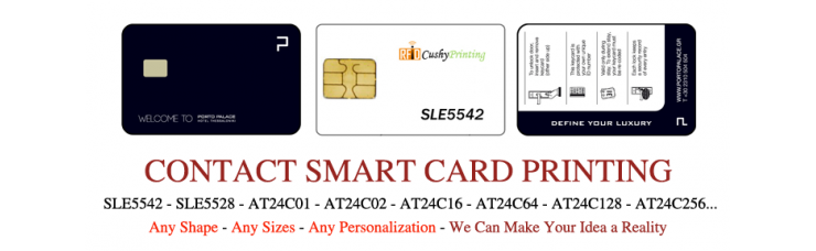 SLE5542 Contact Smart Cards Pack of 500
