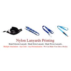 Nylon Lanyards Printing
