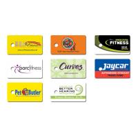 Plastic Single Key Tag Card Pack of 500