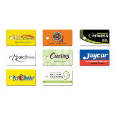 Plastic Single Key Tag Card Pack of 500