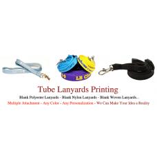 Tube Lanyards Printing